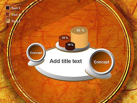 Orange Wall Texture PowerPoint Template Slide 16