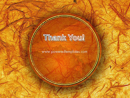 Orange Wall Texture PowerPoint Template Slide 20