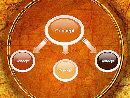 Orange Wall Texture PowerPoint Template Slide 4