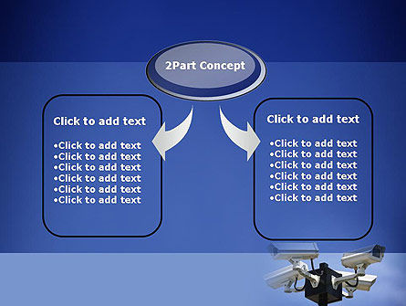 Surveillance Cameras PowerPoint Template, Slide 4, 11478, Careers/Industry — PoweredTemplate.com