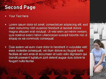 Honoring A Fallen Soldier PowerPoint Template Slide 2