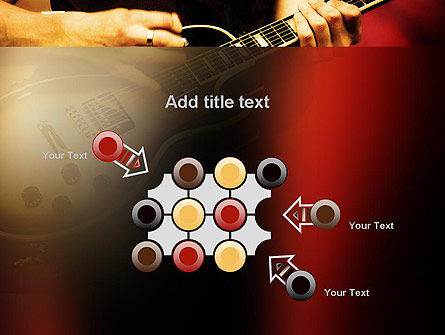 Rock Guitar PowerPoint Template Slide 10