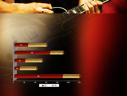 Rock Guitar PowerPoint Template Slide 11