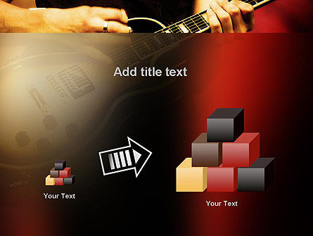 Rock Guitar PowerPoint Template Slide 13