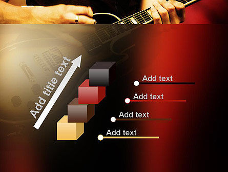 Rock Guitar PowerPoint Template Slide 14