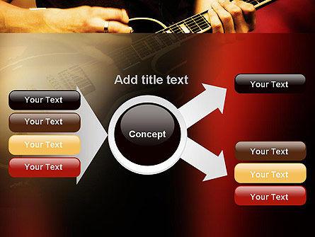 Rock Guitar PowerPoint Template Slide 15