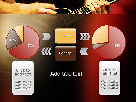 Rock Guitar PowerPoint Template Slide 16