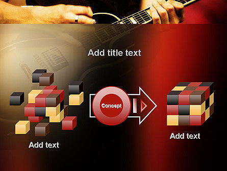 Rock Guitar PowerPoint Template Slide 17