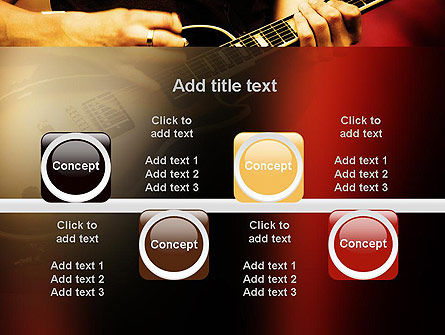 Rock Guitar PowerPoint Template Slide 18