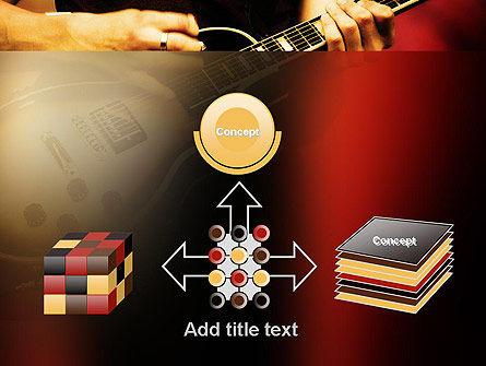 Rock Guitar PowerPoint Template Slide 19