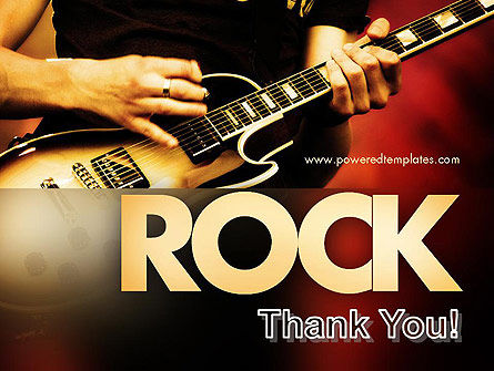 Rock Guitar PowerPoint Template Slide 20