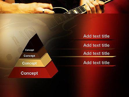 Rock Guitar PowerPoint Template, Slide 4, 11481, Art & Entertainment — PoweredTemplate.com