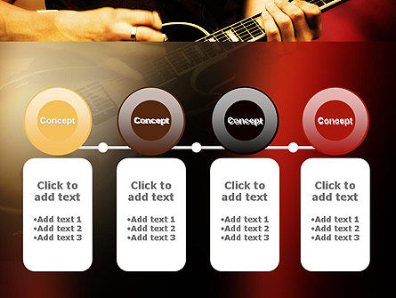 Rock Guitar PowerPoint Template Slide 5