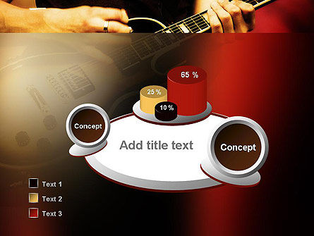 Rock Guitar PowerPoint Template Slide 6