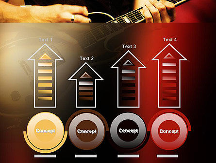 Rock Guitar PowerPoint Template Slide 7