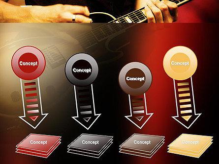 Rock Guitar PowerPoint Template Slide 8