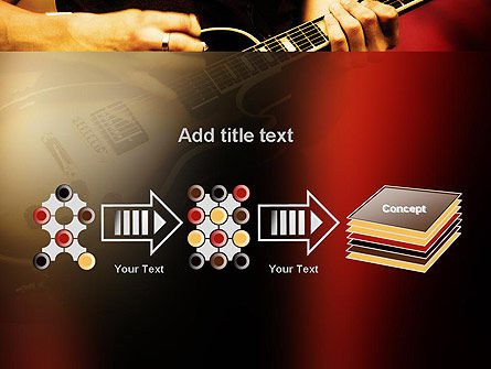 Rock Guitar PowerPoint Template Slide 9