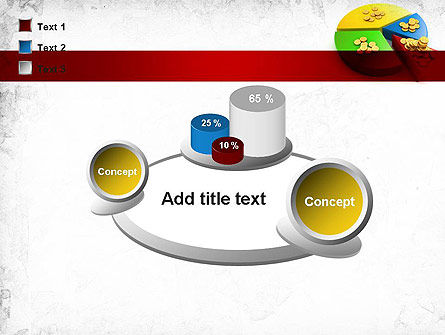 Money Pie PowerPoint Template Slide 16
