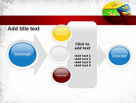 Money Pie PowerPoint Template Slide 17