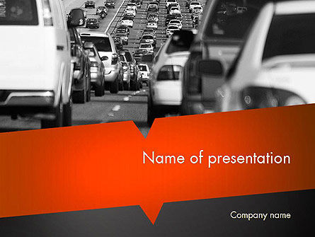 Tailpipe Emissions PowerPoint Template, 11483, Cars and Transportation — PoweredTemplate.com