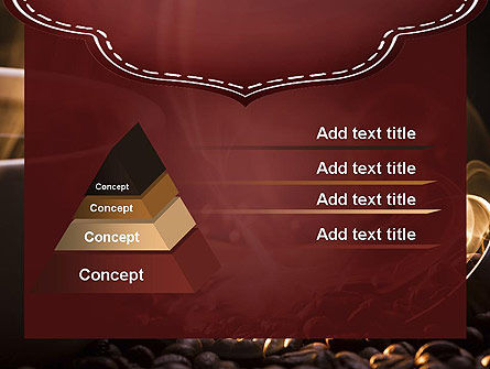 Steaming Hot Coffee Cup PowerPoint Template Slide 12