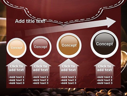 Steaming Hot Coffee Cup PowerPoint Template Slide 13