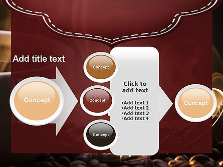 Steaming Hot Coffee Cup PowerPoint Template Slide 17