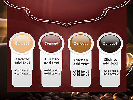 Steaming Hot Coffee Cup PowerPoint Template Slide 5