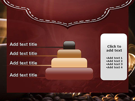 Steaming Hot Coffee Cup PowerPoint Template Slide 8