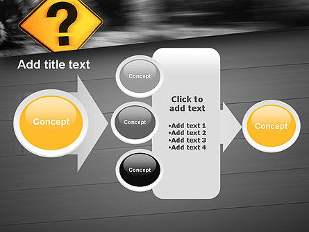 Question Mark Road Sign PowerPoint Template Slide 17