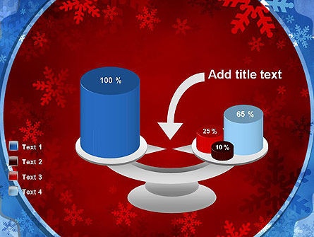 Snowflakes Theme PowerPoint Template Slide 10