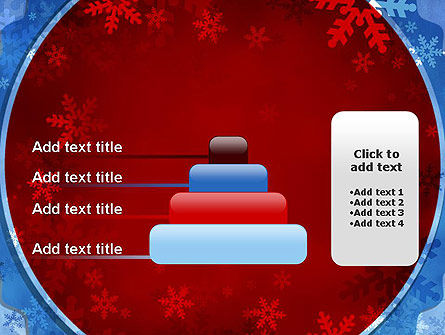 Snowflakes Theme PowerPoint Template Slide 8