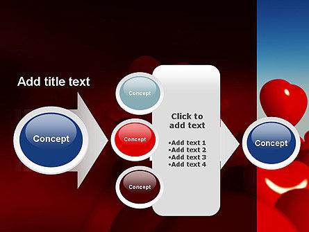 Heart Balloons PowerPoint Template Slide 17