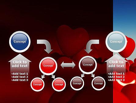 Heart Balloons PowerPoint Template Slide 19