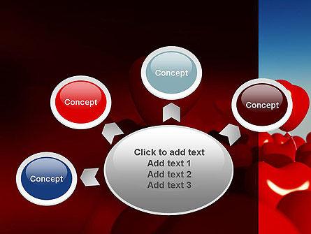 Heart Balloons PowerPoint Template Slide 7