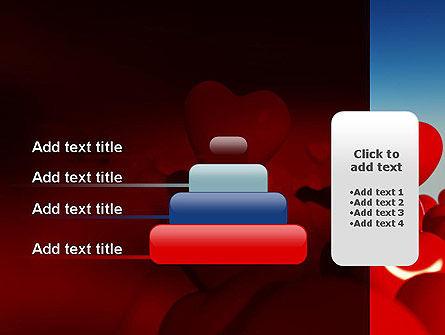 Heart Balloons PowerPoint Template Slide 8