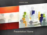Education & Training: Business Courses PowerPoint Template #11497