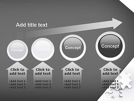 Jigsaw Puzzle PowerPoint Template Slide 13