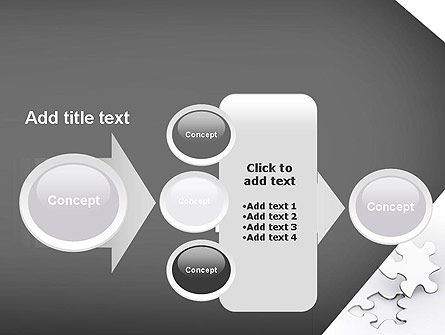 Jigsaw Puzzle PowerPoint Template Slide 17