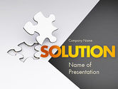 Consulting: Jigsaw Puzzle PowerPoint Template #11499