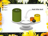 Greeting Card with Flowers PowerPoint Template#10