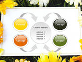 Greeting Card with Flowers PowerPoint Template#6