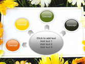 Greeting Card with Flowers PowerPoint Template#7