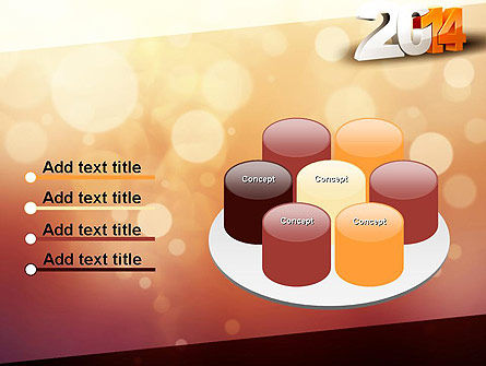 2014 PowerPoint Template Slide 12