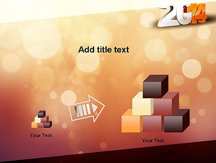 2014 PowerPoint Template Slide 13