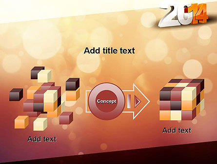 2014 PowerPoint Template Slide 17