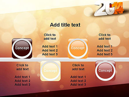 2014 PowerPoint Template Slide 18