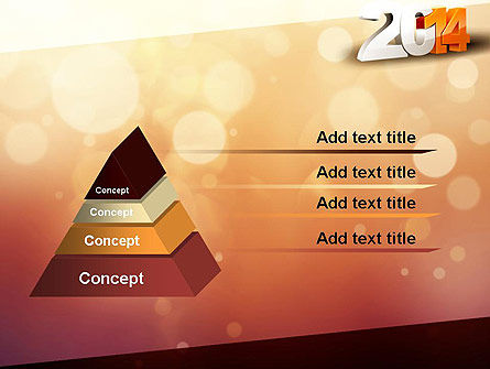 2014 PowerPoint Template, Slide 4, 11503, Holiday/Special Occasion — PoweredTemplate.com
