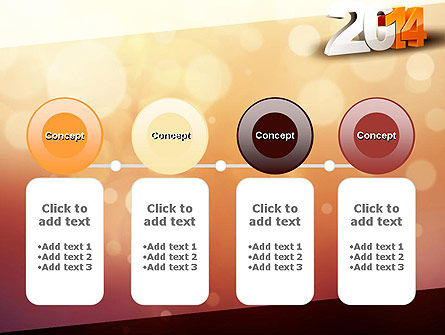 2014 PowerPoint Template Slide 5