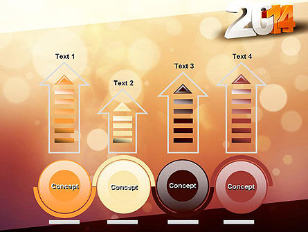 2014 PowerPoint Template Slide 7